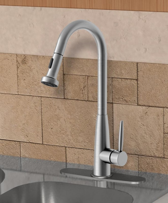 Ancona Signature Ii Pull Out Kitchen Faucet Reviews