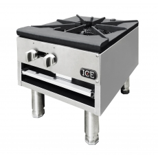 ICE Commercial 18 in. Single Burner Gas Tabletop Cooktop